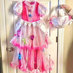 Chasing Fireflies Candy Princess Costume, size 6